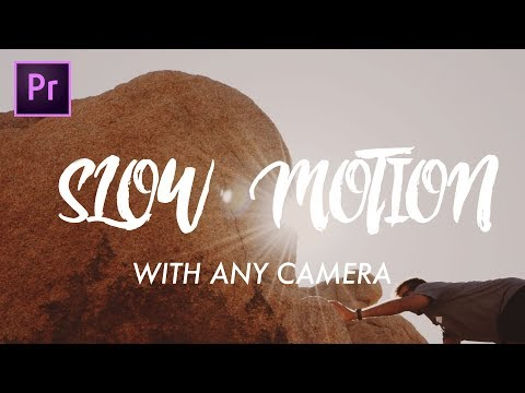 How to record in Slow Motion Using Any Camera EASY | Adobe Premiere Pro Tutorial