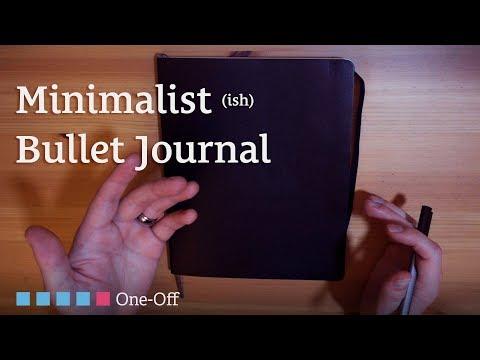 My Minimalist (ish) Bullet Journal for 2018