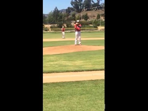 Boomer Pitching vs Baseball Select
