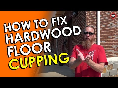 Hardwood Floor Cupping Crawl Space Knoxville | Your Crawl Space May Be the Problem | Crawl Space DIY
