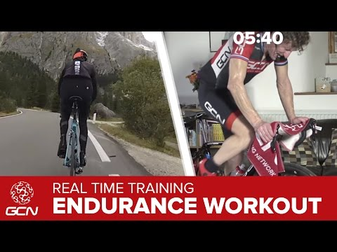 Fat Burning 25 Minute Indoor Cycling Workout – Climb The Passo Sella