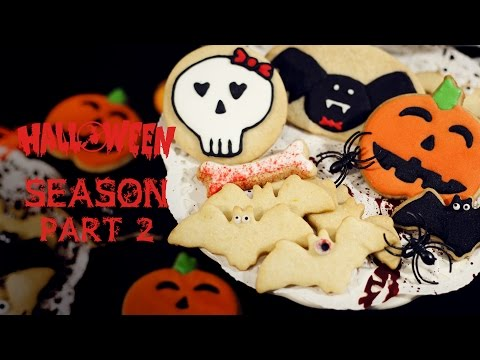 How to Decorate Cookies for Halloween with Royal Icing