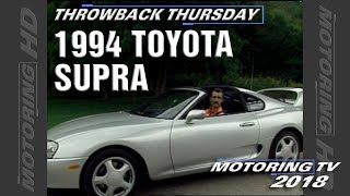 Throwback Thursday: The 1994 Toyota Supra