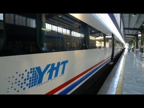 Video guide to the Yüksek Hızlı Tren, Turkey's high-speed train