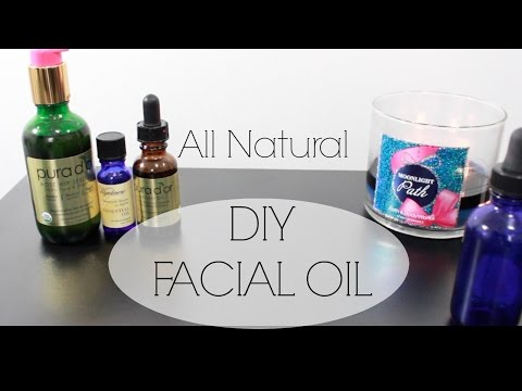 DIY Facial Oil for Healthy Clear Skin| Argan Oil | Rosehip Seed Oil | Natural Skincare