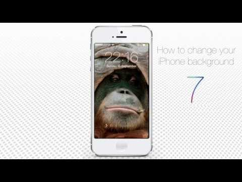 How to Change iPhone  and iPad Background