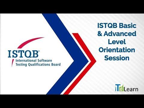 ISTQB Basic & Advanced Level Orientation Session - ITeLearn