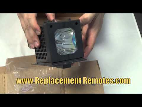 HITACHI UX21513 Projection TV Projector Lamp W/ Osram Neolux Bulb - www.ReplacementRemotes.com