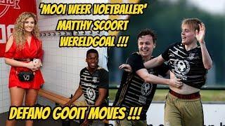 Matthy mooi weer voetballer volgens Fabiola maar scoort na assist Defano. (Debuut Dylan Peys)
