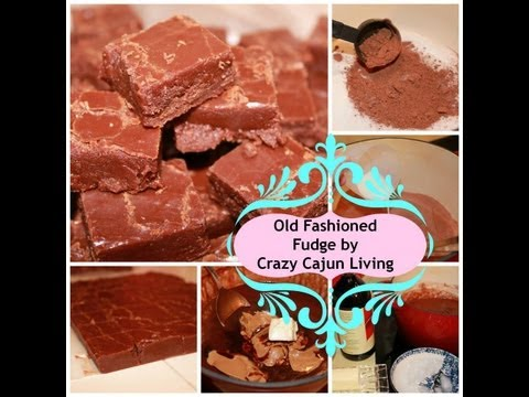 Old Fashioned Fudge - VERY OLD RECIPE - VIDEO RECIPE