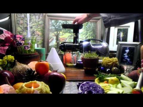 DNA Repairing Phytonutrient Blasting Cabbage Juice Recipe Feat. Turmeric, Ginger, Apple, Carrot!!
