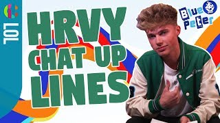 HRVY reads out cringey chat-up lines!