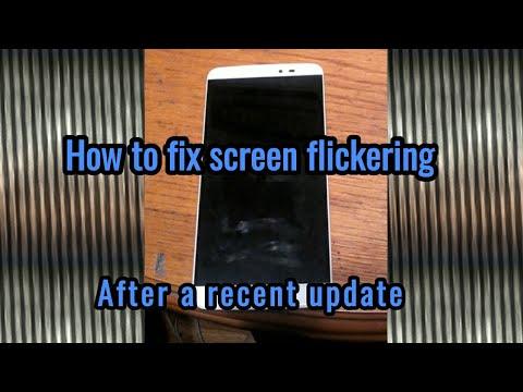 How to remove screen flickering (fix)