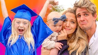 Everleigh's Kindergarten Graduation!!! (Surprise Party AND Ceremony)
