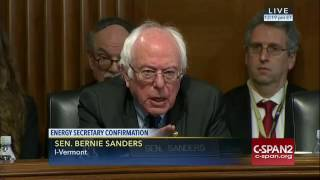 Sen. Sanders asks Perry to admit climate change is a threat