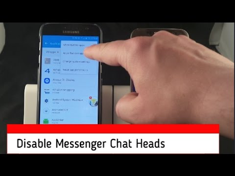 How To Disable Chat Heads (Messenger Bubble)