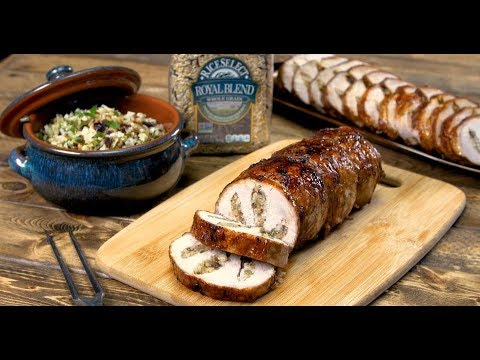 Royal Stuffed Pork