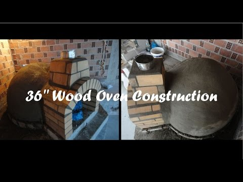 36'' Wood Fired Pizza Oven Construction | Part 2: Dome Construction