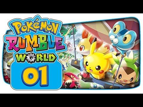 Pokémon Rumble World - Part 1: A 'Free-To-Start' Toy Pokémon Adventure!