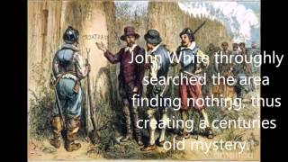 Roanoke colony mystery