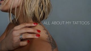 All About My Tattoos! {storytime} | Chinae Alexander
