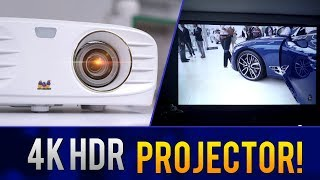 The Best Affordable 4k HDR Projector? // ViewSonic PX747
