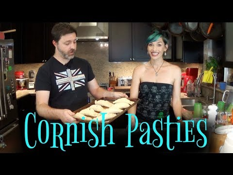 Cornish Pasties From The Unofficial Harry Potter Cookbook   Cooking Show