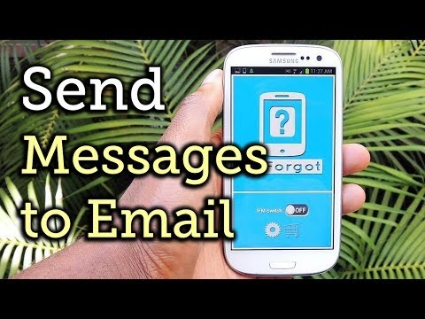 Forward Missed Call Alerts & Text Messages on Your Samsung Galaxy S3 to an Email Address [How-To]