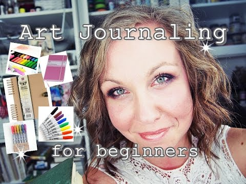 Art Journaling for Beginners: TIPS & SUPPLIES, how to get started part1 ♡ Maremi's Small Art ♡