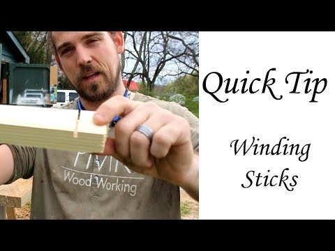 What are WINDING STICKS?