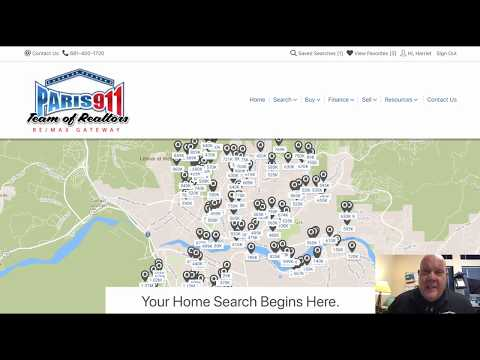 Find sold real estate by map in Southern California