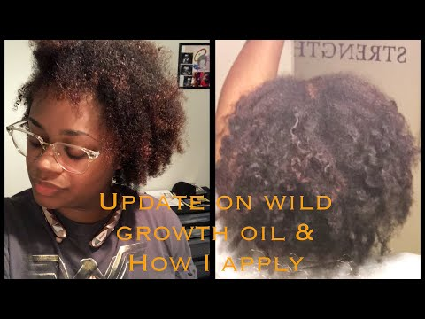 1 month update Wild Growth Oil | How I apply it
