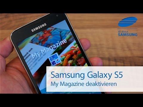 Samsung Galaxy S5 My Magazine deaktivieren / Homescreen durchscrollen