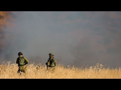 BREAKING: Iran military in Syria fire '20 MISSILES' at Israel targets in Golan Heights & more end...