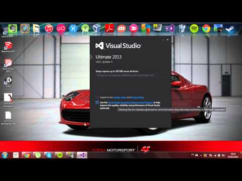 Video-Aula 1 - Baixando e instalando o visual studio 2013 ultimate.