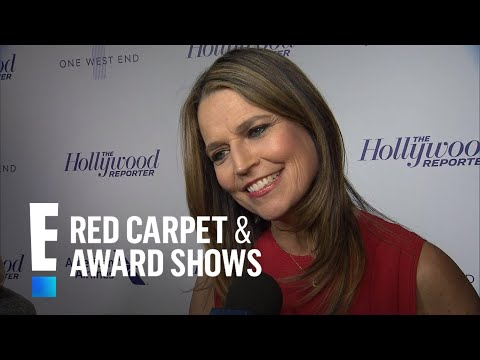 Savannah Guthrie Talks Life as a Mother of 2 | E! Live from the Red Carpet