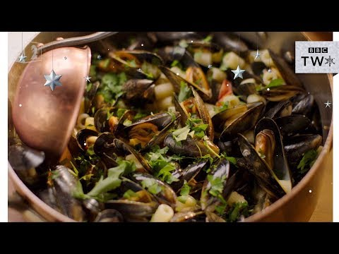 Delicious Moules Marinière  Pasta – Nigella: At My Table   Episode 6 – BBC TWO