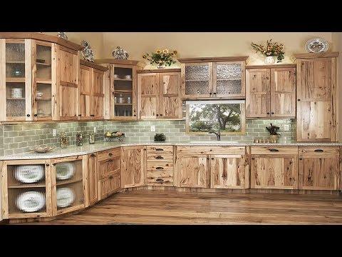 Rustic Wood Kitchen Cabinet Design Ideas
