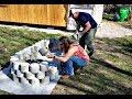 Building A Organic Air Crete Raised Garden Bed