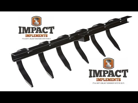 Impact Implements Chisel Plow for ATV/UTV with 2