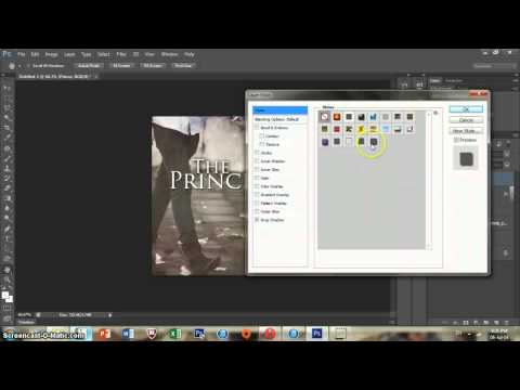 Photoshop CS6 Tutorial | Making a Wattpad Cover