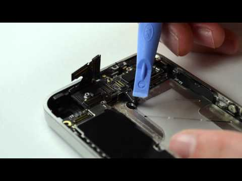 How To: Replace an iPhone 4 Home Button
