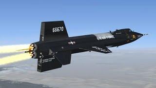 The Fastest X-Plane - Mach 7 North American X-15 (720p)