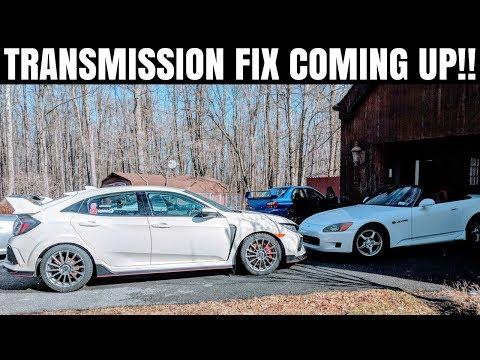 Honda Civic Type R Transmission Update | Clutch Master Cylinder & NEW TRANS?? | VLOG