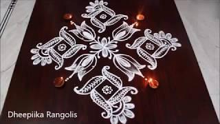 Dheepiika Rangolis Videos Playingitnow All The Best New Music