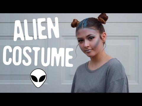 DIY Alien Halloween Costume | Koukla Forever