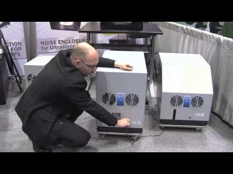 Noisy vacuum pump & Noise Reduction Enclosure from MS NOISE