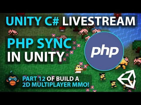 C# with Unity Live Programming #19 - Multiplayer 2D Top Down Adventure MMORPG Part 11