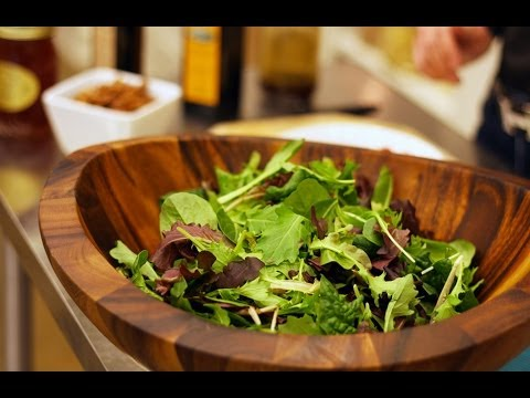 The Perfect Salad & Simple Vinaigrette