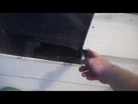 How to replace old Hardi siding on a house.